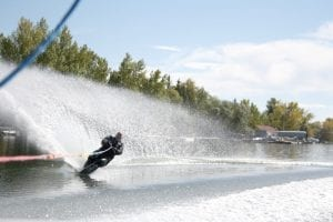 Doug McKay Waterskiing
