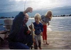 Fishing with my kids