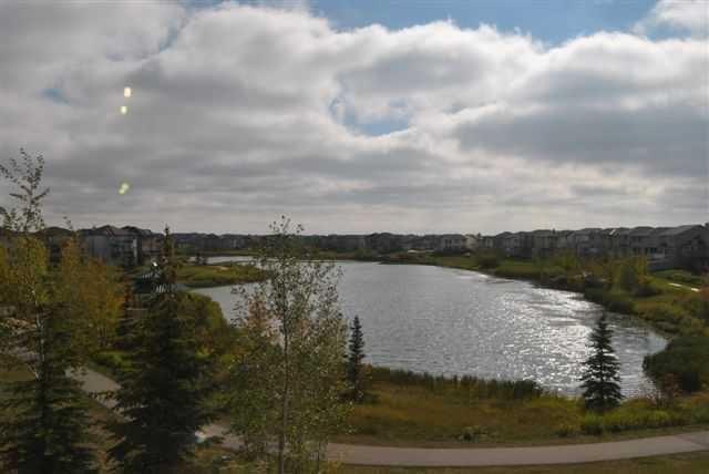 Taradale condo pond view